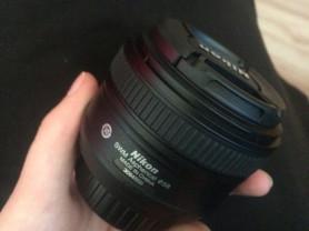 Af-s Nikkor 50mm f/1.8G (объектив)