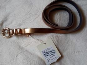 Ремень Zarina размер М кожа, новый, цвет бронзовый