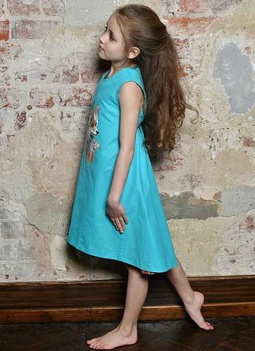 """Платье для девочки """"Фенечка"""""""