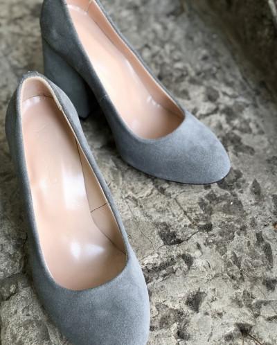 Замшевые туфли. New Collection