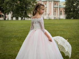новые пышные платья для девочек