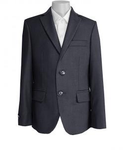 Пиджак UNIK KIDS, серый, классический