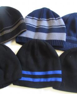 шапки подросково-взрослые на флисе
