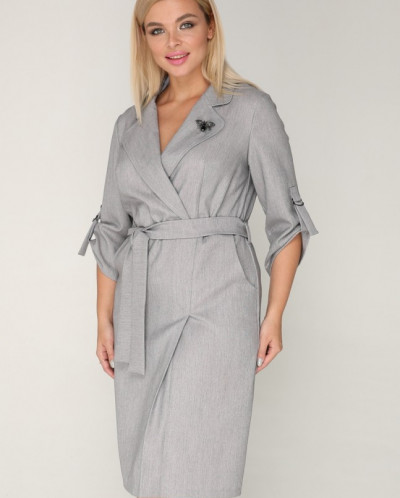 Платье 240 серый