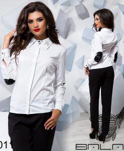 Рубашка на пуговицах - 16011