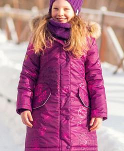 Пальто для девочки от -5 до -30. Предзаказ.