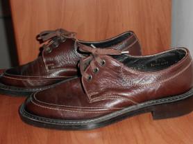 Ретро туфли мужские кожа Цебо Чехословакия 25 см