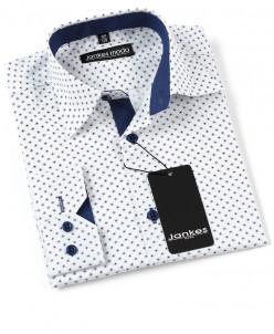 Рубашка в горошек 116-146 см