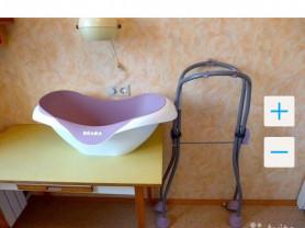 Продам эргономическую ванночку + подставку Beaba