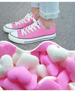 Розовые низкие Converse AllStars!