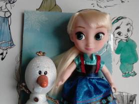 Мини-кукла Эльза Disney Animators