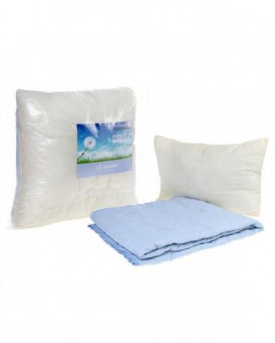 Комплект Адамас: одеяло 1,5 сп., 200гр/м2, подушка 50х70см