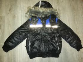 Куртка весна-осень детская р. 122, есть капюшон, о