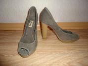Новые туфли с открытым мысом