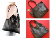 Новые кожаные черные сумки кроссбоди рюкзаки