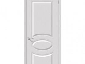 """Межкомнатная дверь """"Джаз"""", пг, белый"""