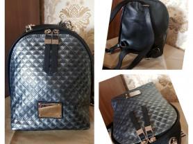 Новый стильный кожаный рюкзак Италия оригинал