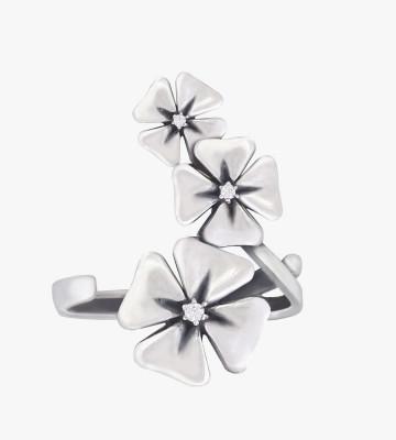 Кольцо из серебра Купава Юмила
