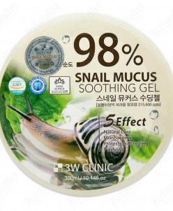 Многофункциональный гель со 100% экстрактом слизи улитки