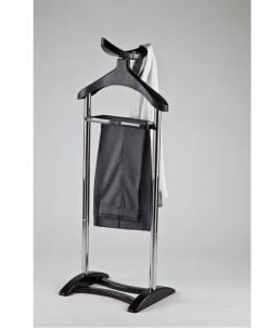Вешалка напольная для одежды 36*44*126 см (чёрная)