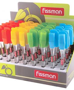 7017 FISSMAN Кисточка и лопатка (силикон)