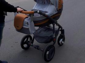 Коляска 2 в 1 bebe mobile movo