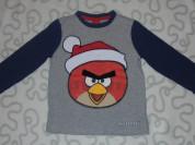 Футболка с длинным рукавом Angry Birds, 4-5 лет