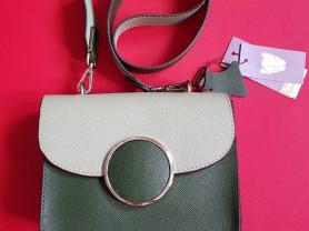 Новая кожаная сумка на плечо Италия оригинал