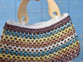 Пляжная сумочка соломенная Испания