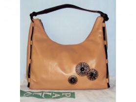Новая сумка Palio из мягкой кожи песочного цвета