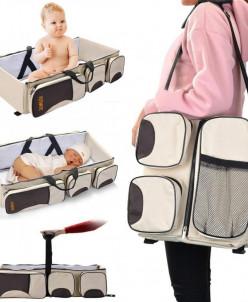 Многофункциональная сумка для мам - детская кровать