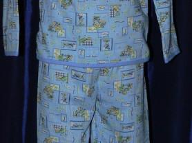 Пижама детская на байке с кнопкой р.74/80 новая