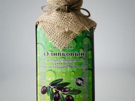 Натуральный шампунь для волос «Оливковый»