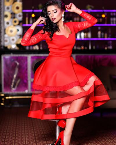 """Вечернее платье """"Пробуждение чувств"""" А3"""