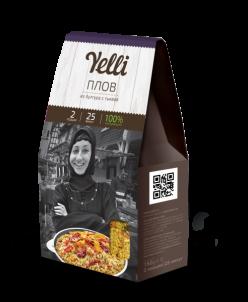 Коллекция  Yelli 2 порции- Плов из булгура с тыквой