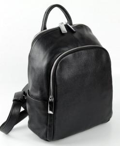 Женский кожаный рюкзак Sergio Valentini СА 2351/Блек
