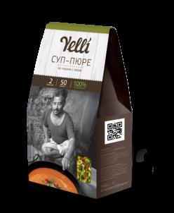 Коллекция  Yelli 2 порции- Суп-пюре из гороха с карри