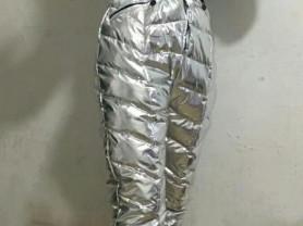 Женский комбинезон серебро