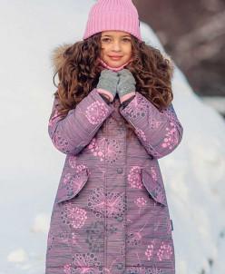 Пальто для девочки от -5 до -30.