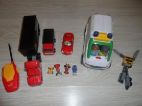 Пакет  детской техники и машинок.