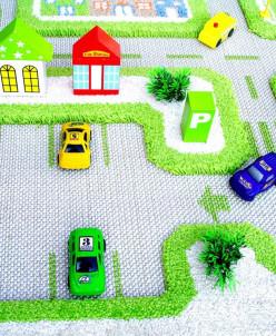 Ковер «Трафик» зеленый 100*150