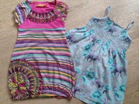 Платье Desigual + Сарафан Gap, б/у, 3-4 года