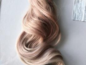 Натуральные волосы омбре 90 см