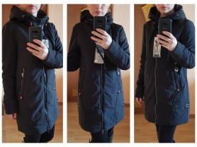 Новое стильная куртка парка на весну 40 42 44 48