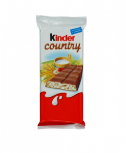 Kinder Chocolate  со злаками Италия 94г