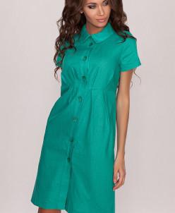 3406 Платье Зеленый