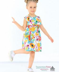 Платье детское Ашанти (кулирка с лайкрой)