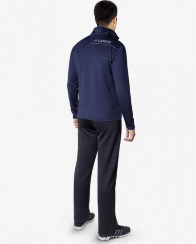 Оригинальный костюм спортивный F50 цвет темно-синий-средне-с