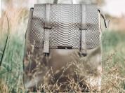 Новый кожаный женский рюкзак для города