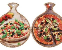Подставка керамическая Пицца в ассортименте